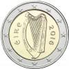 Kursmuenze Irland Harfe 2 Euro 2016