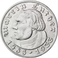 J.353 -  Drittes Reich  5 Reichsmark 1933  Martin Luther