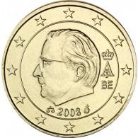 Belgien  10  Cent 2008 König Albert II.