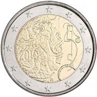Finnland 2 Euro 2010 bfr.150 Jahre Finnische Währung
