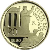 Vatikan-20-Euro-2020-Apostelgeschichte-Gold-PP-I