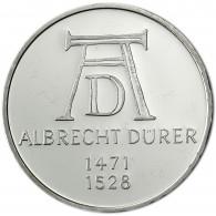 Gedenkmünze Deutschland 5 DM Silber 1971 Stgl. Albrecht Dürer