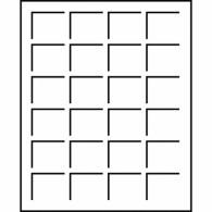 336508 -  Tableaus S - Format 24 Felder bis 33 mm