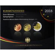 Deutschland 5,88 Euro-Kurssatz 2018 PP im Blister Mzz: F