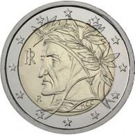 Italien 2 Euro Muenze  2013 bfr.  Dante Alighieri