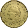 Kursmünzen Vatikan 20 Cent 2002 Stgl.Papst Johannes Paul II Münzkatalog bestellen