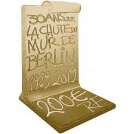 200 Euro Gold Münzen  2019  1 oz Gold  PP Fall der Berliner Mauer Frankreich