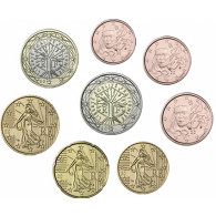 Frankreich 3,88 Euro 2005 bfr.  1 Cent - 2 Euro  lose