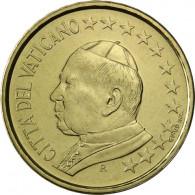 Kursmünzen aus dem Vatikan 10 Cent 2002 Stgl. Papst Johannes Paul II