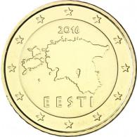 Estland 50 Cent 2016  bfr. Landkarte