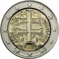 2 Euro Münze aus der Slowakei