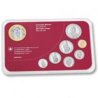 Schweiz Kursmünzensatz  2013 stgl. Silvesterchlausen