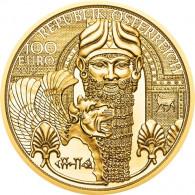 Goldmünze 1/2 Unze 100 Euro 2019 Neue Serie: Magie des Goldes 1. Ausgabe: Mesopotamien aus Österreich bestellen