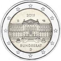 Neue 2 Euro-Gedenkmünze 2019  Bundesrat – Serie Bundesländer Deutschland