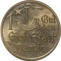 D 7  -  Danzig  1 Gulden 1923