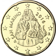 San Marino 20 Cent 2016 bfr. Heiliger Marinus