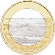 Finnland 5 Euro Gedenkmünzen  2018 bfr. Landschaften-Serie - Pallastunturi Fells
