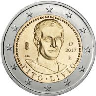 2-Euro-Gedenkmünze Italien 2017  2000. Todestag von Titus Livius