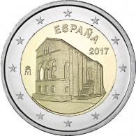 2 Euro Sondermünze 2017 Asturien Spanien in Bankfrisch