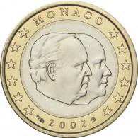 1 Euro Münze 2002 Rainer II Monaco