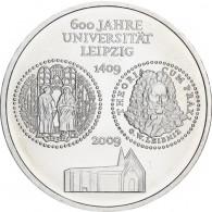 Silbermünze 10 Euro 2009 Universität Leipzig - jetzt kaufen