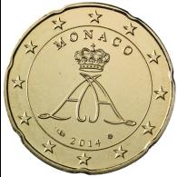 Monaco-20-Cent-I-bfr