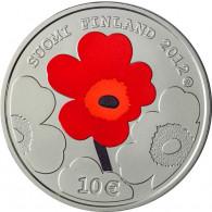 Finnland 10 Euro Silbermuenzen 2012 Armi Ratia