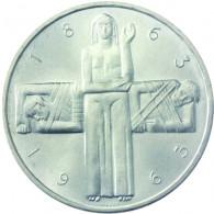 Schweiz 5 Franken Silber 1963  100 Jahre Rotes Kreuz