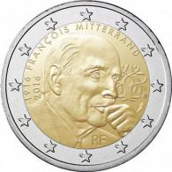 2 Euro Münze Frankreich 2016 Mitterrand