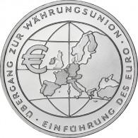 Deutschland 10 Euro 2002 PP Übergang Währungsunion