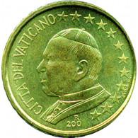 Vatikan 10 Cent Papst Johannes Paul
