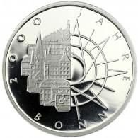 Deutschland 10 DM Silber 1989 PP 2000 Jahre Bonn