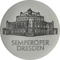 J.1600 - DDR 10 Mark 1985 - Semperoper in Dresden