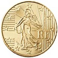 Frankreich 10 Cent 2001 bfr.