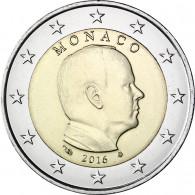 2 Euro Kursmünze Monaco 2016