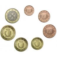 Malta 1,88 Euro 2015 bfr. KMS 1 Cent - 1 Euro lose