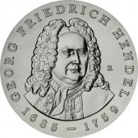 J.1595 - DDR 20 Mark 1984 - Georg Friedrich Händel