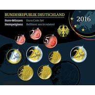 Kursmünzensatz 2016