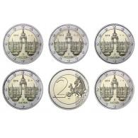 2 Euro Dresdner Zwinger Gedenkmuenzen