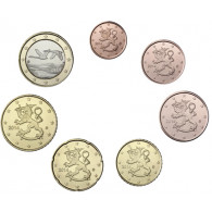 Finnland 1,88 Euro 2014 bfr. 1 Cent - 1 Euro lose