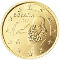 Spanien 50 Cent 1999 bfr. Miguel de Cervantes
