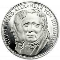Deutschland 5 DM Silber 1967 PP Alexander & Wilhelm von Humboldt
