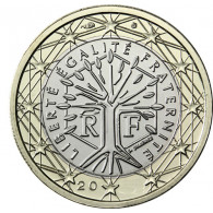Frankreich 1 Euro 2004 bfr. Lebensbaum