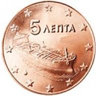 Griechenland 5 Cent 2007 bfr. Hochseetanker