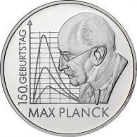 Gedenkmünze 10 Euro 2008 PP - Max Planck