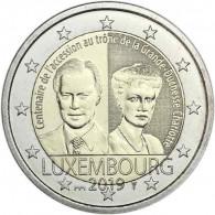 Luxemburg 2 Euro Gedenkmünze  2019 Großherzogin Charlotte Mzz.St. Servatius Brücke