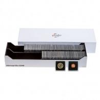 Zubehör Box für 100 Quadrum Münzen Kapseln