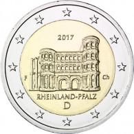Deutsche 2 Euro-Gedenkmünze Porta Nigra 2017