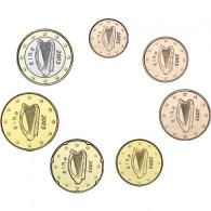 Irland 1 Cent bis 1 Euro 2003 7 Münzen - lose bfr.
