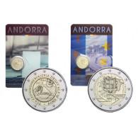 2 x 2 Andorra Gedenkmünzen 2015
